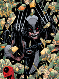 X-Force Annual No.1 Cover: Wolverine Plastic Sign by Jason Pearson