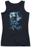 Juniors Tank Top: Batman - Moonlight Cat Tank Top