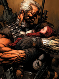 Uncanny X-Men No.493 Cover: Cable Plastic Sign by David Finch