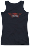 Juniors Tank Top: Aerosmith - Winged Logo Tank Top