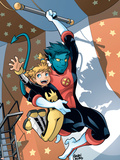 X-Men Power Pack No.3 Cover: Nightcrawler and Energizer Plastic Sign by  Gurihiru
