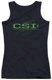 Juniors Tank Top: CSI - Sketchy Shadow Tank Top