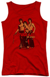 Juniors Tank Top: Bruce Lee - Nunchucks Tank Top