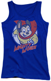 Juniors Tank Top: Mighty Mouse - Mighty Circle Tank Top