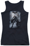 Juniors Tank Top: Dark Knight Rises - Crumbled Poster Tank Top