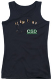 Juniors Tank Top: CSI - Shadow Cast Tank Top