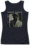 Juniors Tank Top: Miles Davis - Portrait Tank Top
