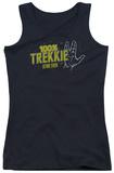 Juniors Tank Top: Star Trek - Trekkie Womens Tank Tops