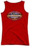 Juniors Tank Top: Survivor - Cook Islands Tank Top