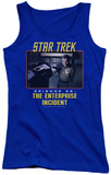 Juniors Tank Top: St Original - The Enterprise Incident Tank Top