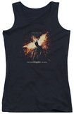 Juniors Tank Top: Dark Knight Rises - Fire Will Rise Tank Top