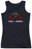 Juniors Tank Top: Dark Knight Rises - Forged In Darkness Tank Top