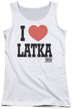 Juniors Tank Top: Taxi - I Heart Latka Tank Top