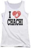 Juniors Tank Top: Happy Days - I Heart Chachi Tank Top