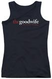 Juniors Tank Top: The Good Wife - Logo Tank Top
