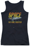 Juniors Tank Top: Star Trek - Space Tank Top