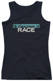 Juniors Tank Top: Amazing Race - Bar Logo Tank Top