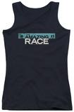 Juniors Tank Top: Amazing Race - Bar Logo Tank Top