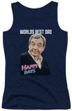 Juniors Tank Top: Happy Days - Best Dad Tank Top