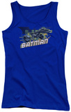 Juniors Tank Top: Dark Knight Rises - Wheels On Fire Tank Top