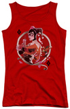 Juniors Tank Top: Batman - Harley Q Tank Top