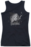 Juniors Tank Top: Bewitched - Vintage Witch Tank Top