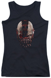 Juniors Tank Top: Dark Knight Rises - Bane Mask Tank Top