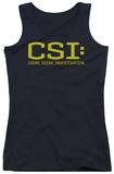 Juniors Tank Top: CSI - Logo Tank Top