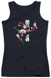 Juniors Tank Top: Batman - Harley And Joker Tank Top