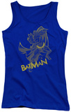 Juniors Tank Top: Dark Knight Rises - Left Hook Tank Top