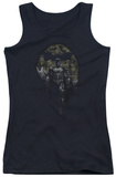 Juniors Tank Top: Dark Knight Rises - Distressed Dark Knight Tank Top