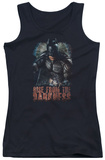 Juniors Tank Top: Dark Knight Rises - Rise From Darkness Tank Top