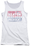Juniors Tank Top: Family Ties - Alex For President Tank Top