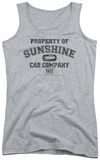 Juniors Tank Top: Taxi - Property Of Sunshine Cab Tank Top