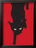 Black Cat 1 Prints by  Print Mafia