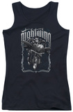 Juniors Tank Top: Batman - Nightwing Biker Tank Top