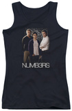 Juniors Tank Top: Numbers - Equations Tank Top