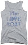 Juniors Tank Top: Love Boat - Distressed Tank Top