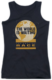 Juniors Tank Top: Amazing Race - Waiting World Tank Top