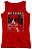 Juniors Tank Top: Arkham City - No Escape Tank Top