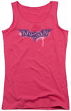 Juniors Tank Top: Dark Knight Rises - Spray Meow Tank Top