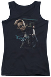Juniors Tank Top: James Dean - Pit Stop Tank Top