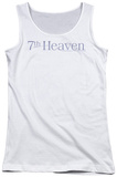 Juniors Tank Top: 7th Heaven - 7th Heaven Logo Tank Top