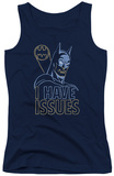 Juniors Tank Top: Batman - Issues Tank Top
