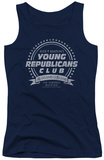 Juniors Tank Top: Family Ties - Young Republicans Club Tank Top