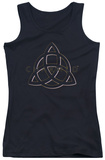 Juniors Tank Top: Charmed - Triple Linked Logo Tank Top