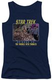 Juniors Tank Top: St Original - The Trouble With Tribbles Tank Top