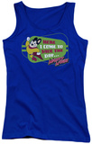 Juniors Tank Top: Mighty Mouse - Here I Come Tank Top