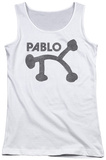 Juniors Tank Top: Concord Music - Retro Pablo Tank Top