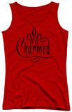 Juniors Tank Top: Charmed - Charmed Logo Tank Top